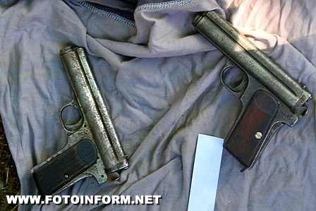 СБУ: на Кировоградщине у местного жителя изъято огнестрельное оружие времен Великой Отечественной войны (фото)