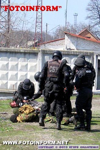 На залізничній станції «Знам'янка» проведено міжвідомчі антитерористичні навчання (ФОТО)