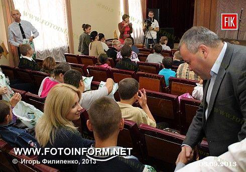 Кировоград: подарки в горсовете (фоторепортаж)
