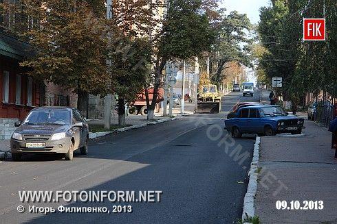 Кіровоград: триває капітальний ремонт доріг (ФОТО)