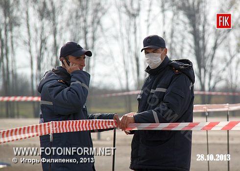 Кіровоград: масштабні навчання з протидії загрозам осінньо-зимового періоду (фоторепортаж)