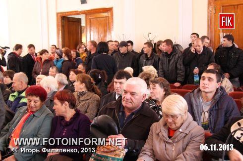 """Сегодня прошла акция против транспортной реформы, организованная партией """"УДАР"""", сообщает корреспондент FOTOINFORM."""