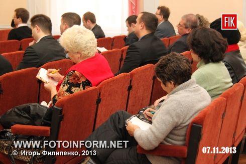 Кіровоград: відбулась зірвана сесія міської ради (фоторепортаж)