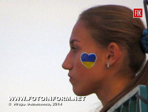 Кировоград: матч Зирка - Десна в фотографиях Игоря Филипенко