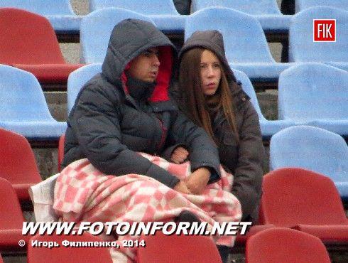 Сегодня в Кировограде после теплой осенней погоды на улице стало довольно прохладно.