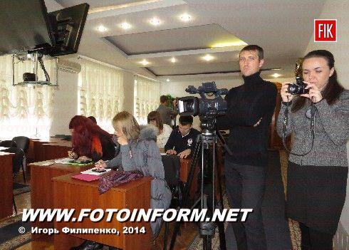 Сегодня состоялась пресс-конференция начальника УМВД в Кировоградской области Анатолия Витюка.