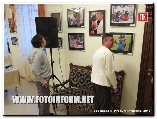Вчера, 3 марта в Кировоградской галерее «Елисаветград» состоялось открытие фотовыставки «Так умеет каждый».