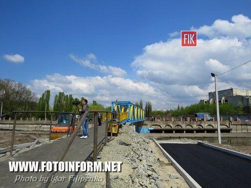 В Кировограде появился новый мост через Ингул (фоторепортаж), фото Игоря Филипенко, новый мост возле парка Пушкина