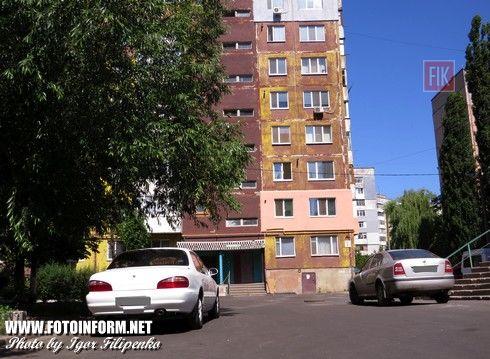 Кировоград: идет ремонт во дворах многоэтажек (фото)