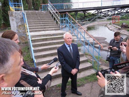 Кировоград: с центра города вывезли двадцать шесть тысяч тонн ила (ФОТО), Иван марковский