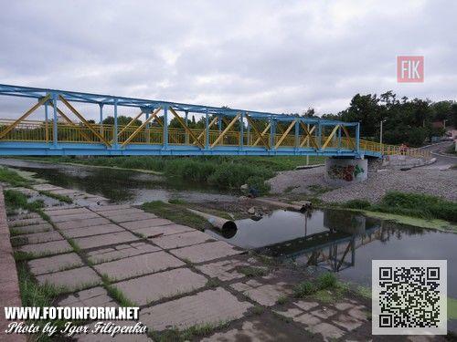 Кировоград: с центра города вывезли двадцать шесть тысяч тонн ила (ФОТО), мост через Ингул