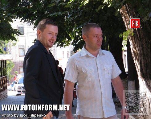 Кировоград, улица Дворцовая, появились первые лавочки, Сергей Васильченко, кировоградские новости