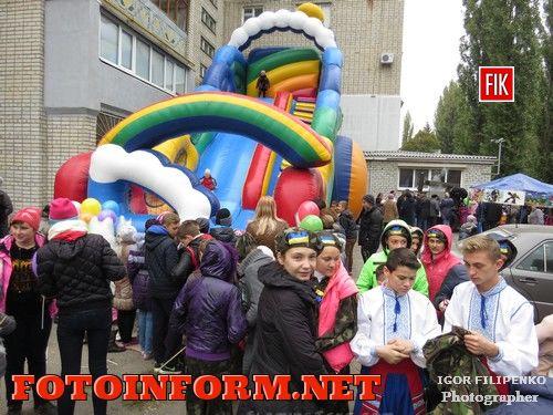 Кировоград: праздник в микрорайоне «Школьный» (фоторепортаж)