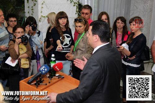 Вчера, 17 июня, Министр охраны здоровья Украины Александр Квиташвили пообщался с представителями СМИ Кировограда.