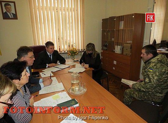 У Кіровоградській міській раді відбувся прийом з особистих питань заступником міського голови Олександром Грабенком.