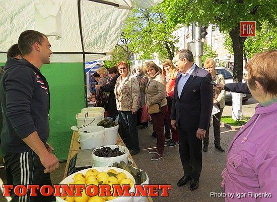 В центре Кировограда проходит ярмарка, фото игоря филипенко