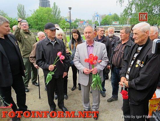 Кировоградские чернобыльцы выразили свой протест (ВИДЕО), Александр Неделько
