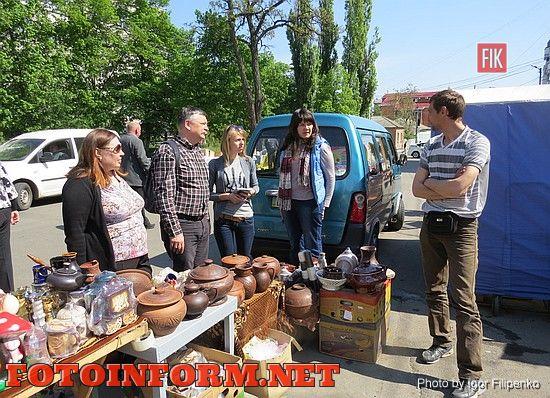 Кировоград: в микрорайоне «Школьный» состоялась предпраздничная ярмарка