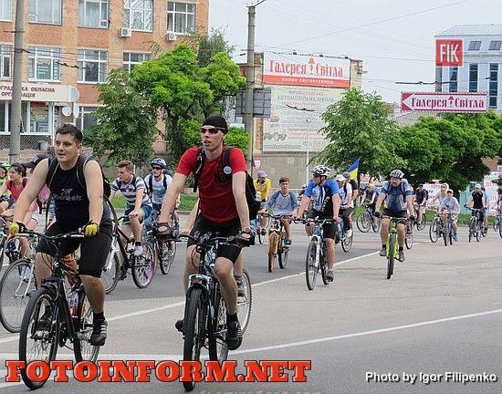 В Кировограде начался велодень, кировоградские новости, фото игоря филипенко,кировоград Велодень 2016