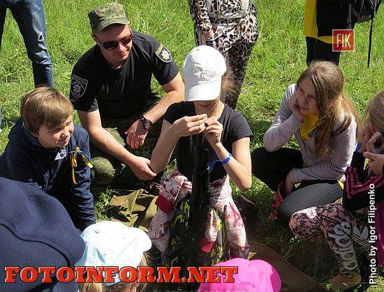 Вчера, 7 июня, в роще Десантников состоялась « Школа выживания».