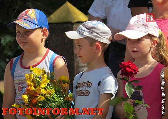 Сегодня, 22 июня, кировоградцы вместе со всей Украиной отметили День скорби и памяти жертв войны.