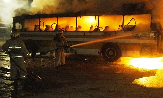 24 листопада о 18:18 до Служби порятунку «101» надійшло повідомлення про пожежу автобуса ЛАЗ-699Р у м. Олександрія Кіровоградської області.