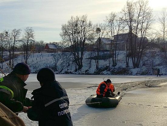 6 грудня о 09:35 до оперативно-координаційного центру У ДСНС у Кіровоградській області надійшло повідомлення про те, що на річці Синюха у Новоархангельському районі рибалка провалився під лід.