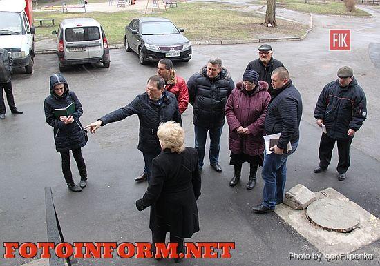 Андрій Райкович зробив об'їзд прибудинкових територій обласного центру