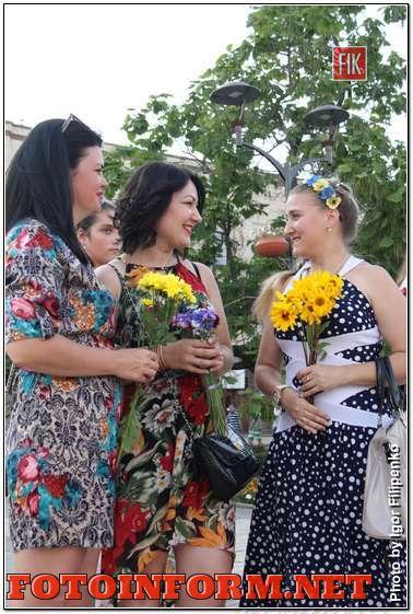 Кропивницкий: Международный флешмоб женственности в фотографиях, фото Игоря Филипенко
