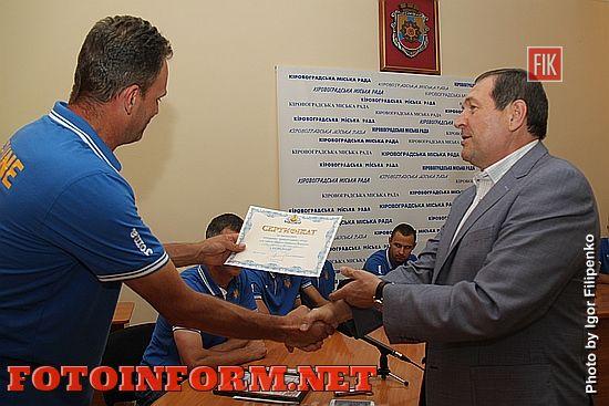 Кропивницкий: Андрей Райкович поздравил с победой