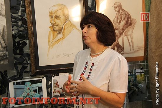Сегодня, 6 сентября, в Кировоградском областном художественном музее состоялось открытии эмоциональной выставки работ художниц с востока Украины Анны Торкаенко и Елены Украинцевой, под названием «Мариуполь на грани».