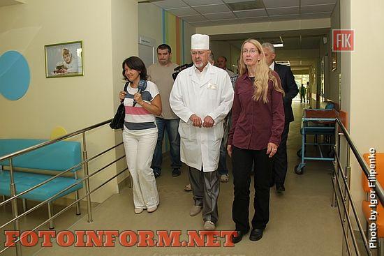 Пропонуємо фоторепортаж із обласній дитячій лікарні де побувала Уляна Супрун