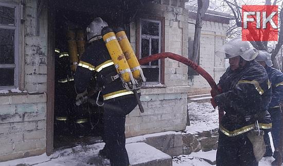 6 січня о 12:11 до Служби порятунку «101» надійшло повідомлення про пожежу житлового будинку в м. Бобринець.