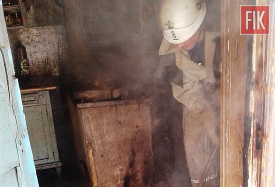 27 січня о 12:59 до Служби порятунку «101» надійшло повідомлення про пожежу на території приватного домоволодіння на вул. Чарівна у смт Олександрійське м. Олександрії.