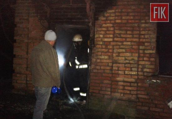 16 лютого о 21:13 до Служби порятунку «101» надійшло повідомлення про пожежу житлового будинку на вул. Пушкіна в смт Нова Прага Олександрійського району.