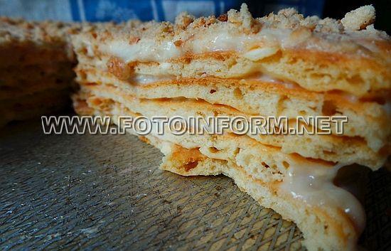 Офигенный торт на сковородке, фото наполеона на скороводке, домашний повар, рецепт