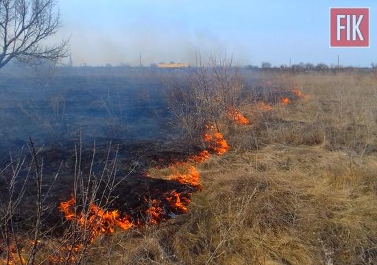 За минулу добу пожежно-рятувальні підрозділи Кіровоградської області загасили 7 загорянь минулорічної сухої рослинності.