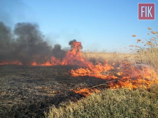 За добу 3 квітня пожежно-рятувальні підрозділи Кіровоградської області 23 рази залучались до ліквідації пожеж сухої рослинності.