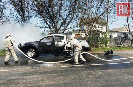 Впродовж дня 29 квітня вогнеборці 21-ї Державної пожежно-рятувальної частини м. Гайворона тричі виїжджали на гасіння пожеж майна та будівель громадян.