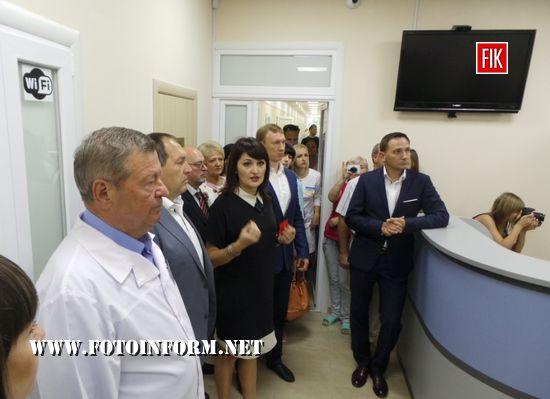 У Кропивницькому введено в експлуатацію інсультний центр