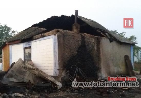 Рятувальники Кіровоградщини, 2 пожежі в житловому секторі, кировоградские новости, кропивницький новини