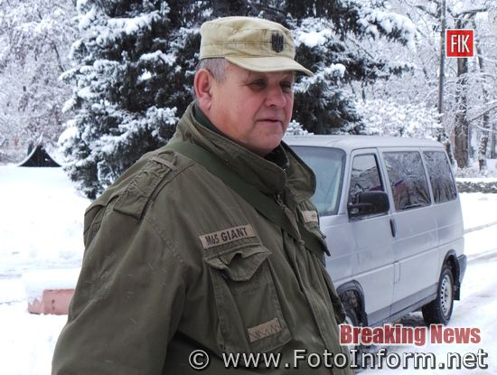 У Кропивницькому, волонтери військовим, передали автівку, ВІДЕО,