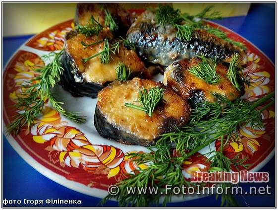 кулинар Игорь Филипенко, Простой и быстрый рецепт ароматной жареной скумбрии, еда, рыба, фото рыбы, блюдо рецепт, скумбрия, скумбрия рецепты, кропивницкий