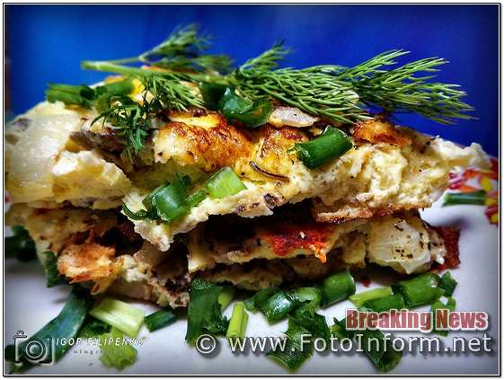 омлет, омлет рецепт, омлет +на сковороде, сковорода рецепт, фото пышный, фото филипенко