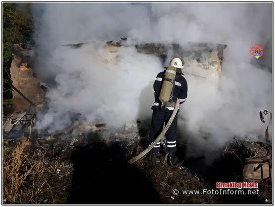 Минулої доби пожежно-рятувальні підрозділи Кіровоградської області загасили 4 пожежі різного характеру.