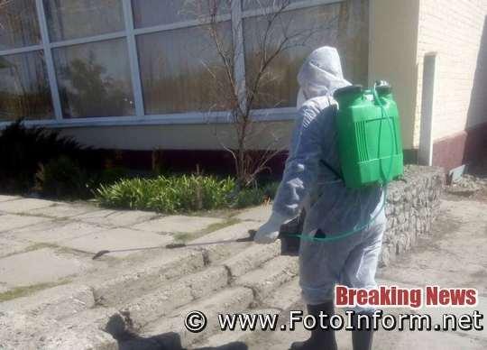 На Кіровоградщині тривають заходи щодо протидії поширенню COVID-19