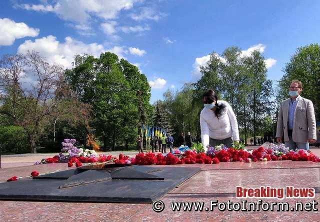 фото Игоря Филипенко, У Кропивницькому відзначили День перемоги над нацизмом (фоторепортаж)