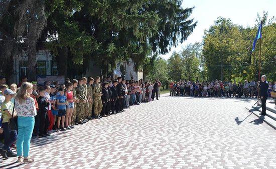 """Сьогодні святом """"День відкритих дверей"""" у комунальному закладі """"Кіровоградський обласний центр туризму, краєзнавства та екскурсій учнівської молоді"""" відзначили початок нового навчального року."""
