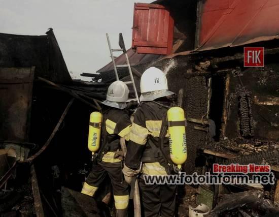 На Кіровоградщині, необережність, виникло 4 пожежі