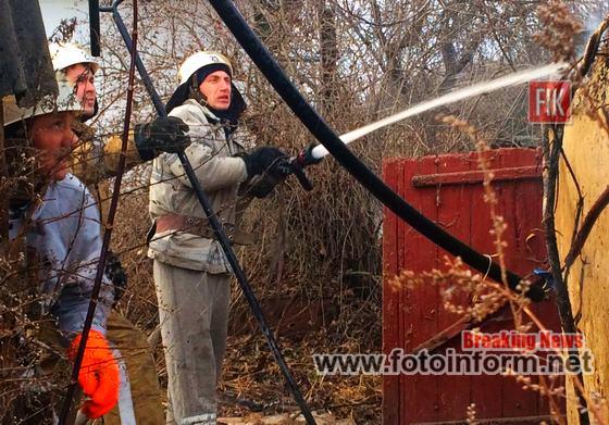 Кіровоградщина, у житловому секторі вогнеборці, ліквідували 4 пожежі